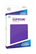 Ultimate Guard - Supreme UX Sleeves Standard Size Matte Purple (80)