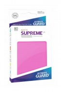 Ultimate Guard - Supreme UX Sleeves Standard Size Matte Pink (80)
