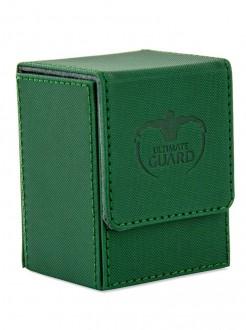 Ultimate Guard - Flip Deck Case 80+ Standard Size XenoSkin Green