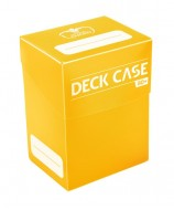 Ultimate Guard - Deck Case 80+ Standard Size Yellow