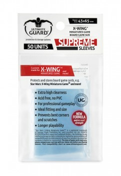 Ultimate Guard - Supreme Sleeves X-wing Miniatures Game (50)