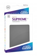 Ultimate Guard - Supreme UX Sleeves Standard Size Matte Dark Grey (80)