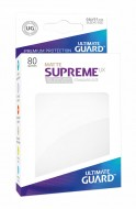 Ultimate Guard - Supreme UX Sleeves Standard Size Matte White (80)