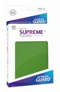 Ultimate Guard - Supreme UX Sleeves Standard Size Matte Green (80)