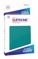 Ultimate Guard - Supreme UX Sleeves Standard Size Matte Petrol Blue (80)