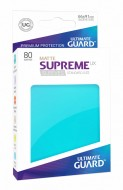 Ultimate Guard - Supreme UX Sleeves Standard Size Matte Aquamarine (80)