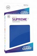Ultimate Guard - Supreme UX Sleeves Standard Size Matte Blue (80)