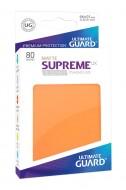 Ultimate Guard - Supreme UX Sleeves Standard Size Matte Orange (80)