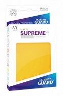 Ultimate Guard - Supreme UX Sleeves Standard Size Matte Yellow (80)