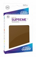 Ultimate Guard - Supreme UX Sleeves Standard Size Matte Brown (80)