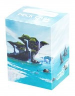 Ultimate Guard - Deck Case 80+ Standard Size Lands Edition Island I