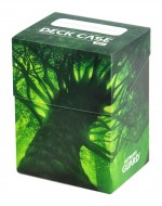 Ultimate Guard - Deck Case 80+ Standard Size Lands Edition Forest I