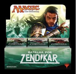 Magic: The Gathering - Batalha por Zendikar Booster