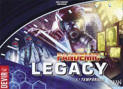 Pandemic Legacy Blue  (jogo de tabuleiro)
