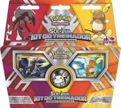 Pokémon - Kit do Treinador Lycanroc e Raichu de Alola.