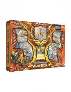POKÉMON - BOX COM MINIATURA TAPU KOKO