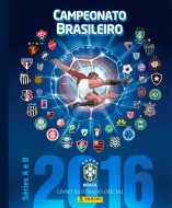ÁLBUM CAMPEONATO BRASILEIRO 2016 (CAPA DURA) COM 10 ENVELOPES